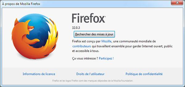 Suite à un problème de sécurité, Mozilla dégaine la version 32.0.3 de FireFox