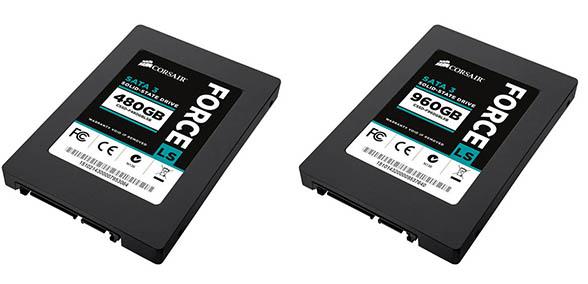 Corsair agrandit la famille Force LS avec deux nouveaux SSD de 480 et 960 Go