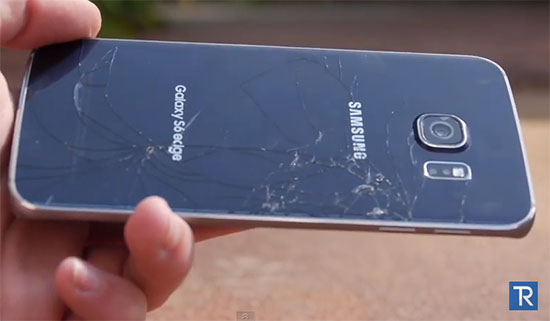 Crash tests : des Galaxy S6 / S6 Edge se font fracasser en vidéos