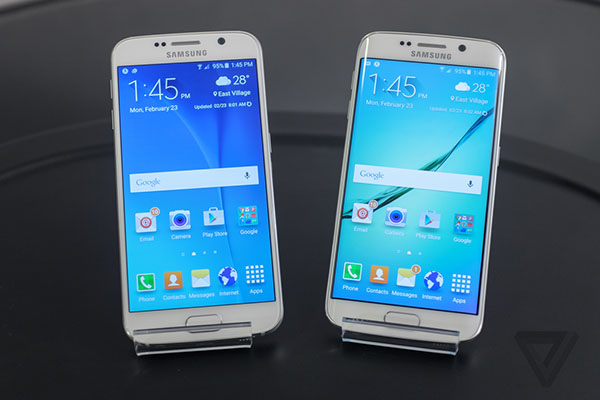 Samsung officialise le Galaxy S6 et le Galaxy S6 Edge