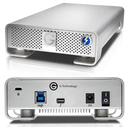 G-Technology dévoile deux nouveaux disques durs externes [MAJ : les prix en France]