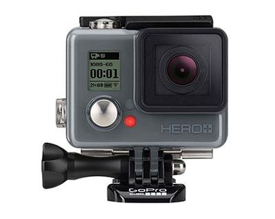GoPro présente une caméra sportive pour les petits budgets : la Hero+ annoncée à 229,99 euros