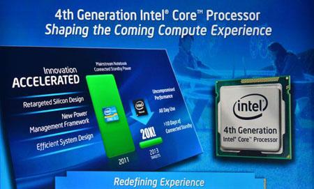 Les processeurs Intel Haswell commencent à faire parler d'eux