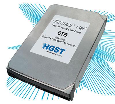 QNAP valide le disque dur WD Ultrastar He6 à l'hélium avec ses NAS