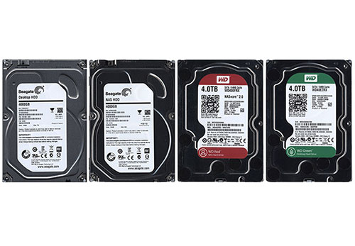 HardWare.fr publie un comparatif de 4 HDD de 4 To