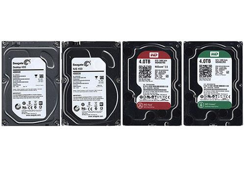 HardWare.fr publie un comparatif de 4 HDD de 4 To