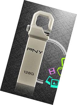 Et de 128 Go pour la clé usb PNY Hook Attaché !