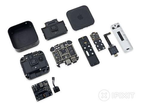 iFixit désosse l'Apple TV 4 et lui donne la note de 8 sur 10