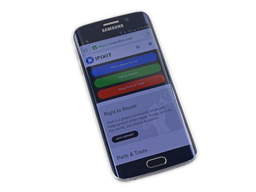 iFixit démonte le Galaxy S6 et le S6 Edge et attribue un 3/10 à ce dernier