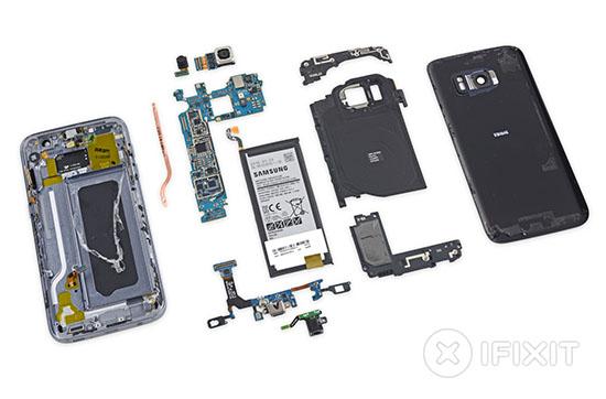 iFixit met en pièces le Galaxy S7 et lui décerne un misérable 3/10