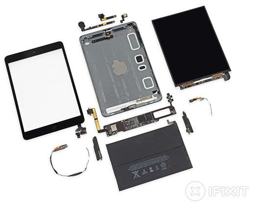 iFixit démonte l'iPad Mini Rétina et lui décerne la note de 2 sur 10