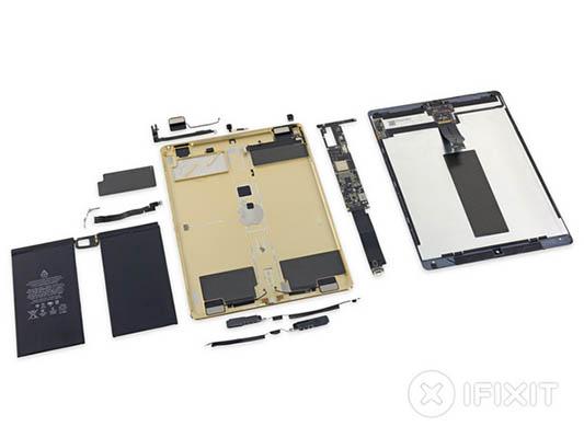 iFixit démonte l'iPad Pro et lui attribue une note de 3 sur 10