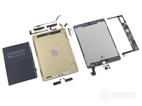 iFixit démonte l'iPad Air 2 et lui attribue un 2/10