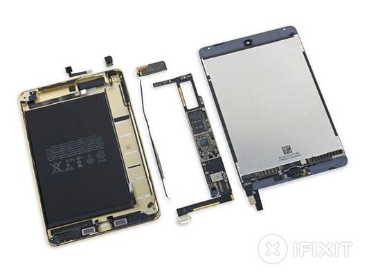 iFixit démonte l'iPad Mini 4 et lui attribue la note de 2 sur 10