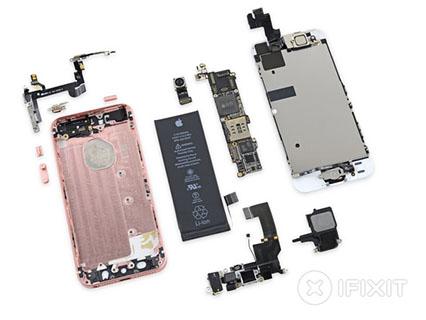 iFixit démonte l'iPhone SE et lui décerne la note de 6 sur 10