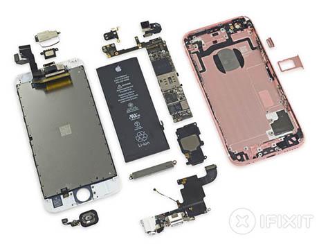 L'iPhone 6S se fait démonter par iFixit et obtient un 7 sur 10