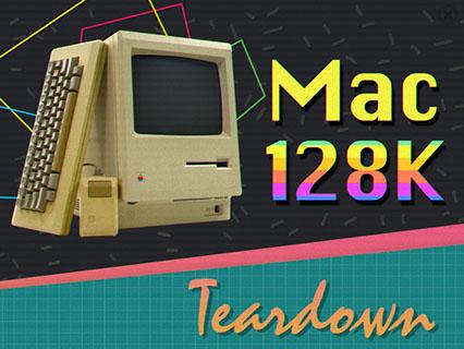 iFixit démonte un bon vieux Macintosh 128k et le note 7/10