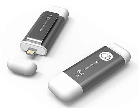 iKlips : la clé qui permet d'offrir jusqu'à 256 Go de stockage supplémentaire sur iPhone, iPad et iPod Touch