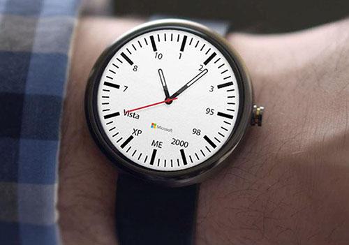 Insolite : la montre connectée version Microsoft