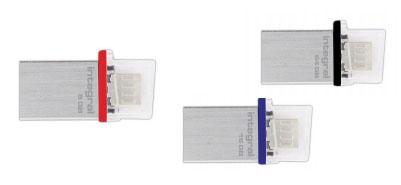 Integral Micro Fusion : une clé OTG très compacte en métal brossé