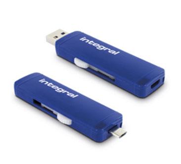 Integral propose une clé USB 3.0 compatible PC, MAC et terminaux mobiles [MAJ]