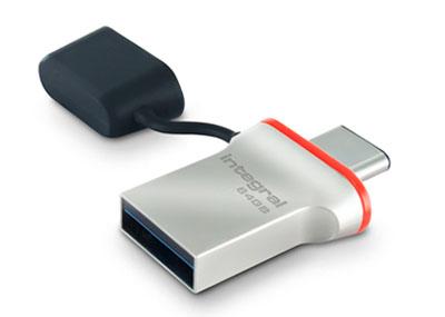 Une première clé USB 3.1 de type C chez Integral Memory