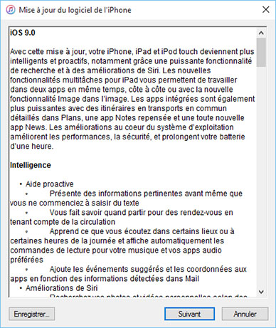 Apple propose officiellement iOS 9.0 en téléchargement sur ses terminaux mobiles