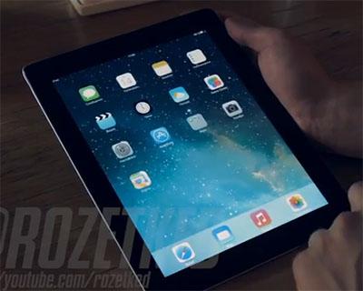 Un site russe dévoile iOS 7 beta pour iPad avant l'heure