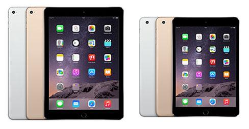L'iPad Air 2 et l'iPad Mini 3 arrivent aujourd'hui en magasin