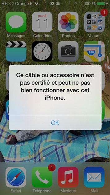 Connecteur iphone 5 prix