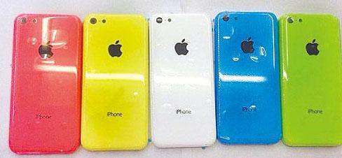 iPhone low cost : une nouvelle photo de famille des différents coloris