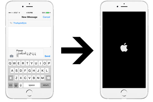 Insolite : un simple SMS peut faire planter un iPhone