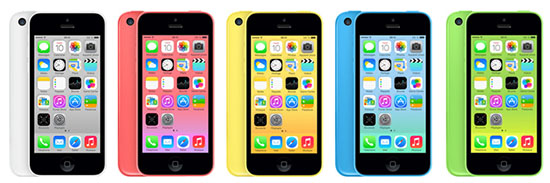 Apple a dévoilé officiellement hier soir l'iPhone 5C et l'iPhone 5S