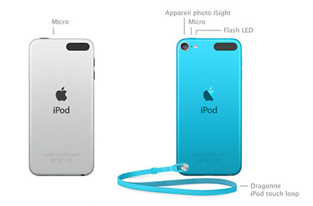 Apple lance discrètement un iPod Touch 5G de 16 Go