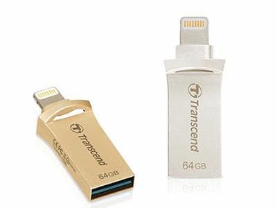JetFlash Go 500 : une clé à la fois USB et Lightning