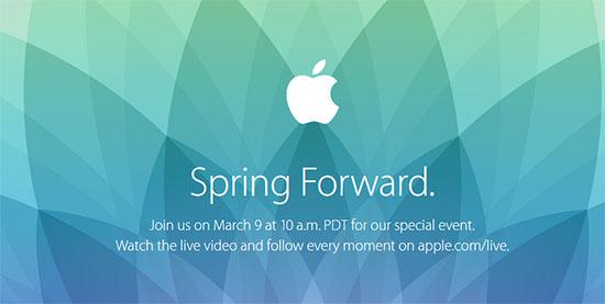 Jour J pour l'annonce de l'Apple Watch !