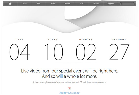La conférence d'Apple sera diffusée en live mardi prochain