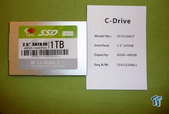 KingFast case 1 To dans un SSD de 2,5 pouces