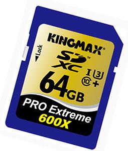 Il y aura aussi des cartes SD UHS-I de classe 3 chez KingMax