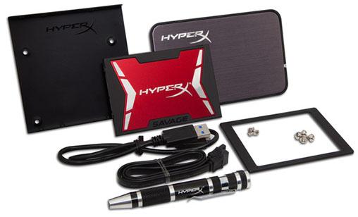Kingston lance une nouvelle série de SSD : les HyperX Savage