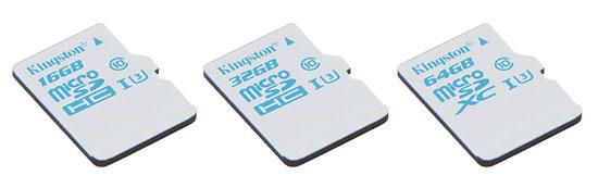 Kingston lance une nouvelle série de cartes microSD