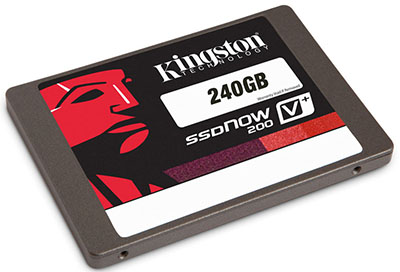 Soldes : 139,99€ le SSD Kingston SSDNow V+200 de 240 Go !