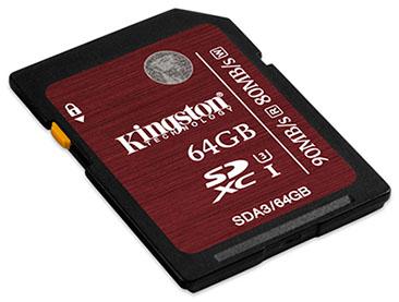 Kingston lance des cartes SDXC et SDHC UHS-I de classe 3 [MAJ: les prix]