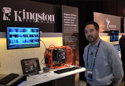 Vidéo : Kingston expose un SSD à base de SandForce SF-3700