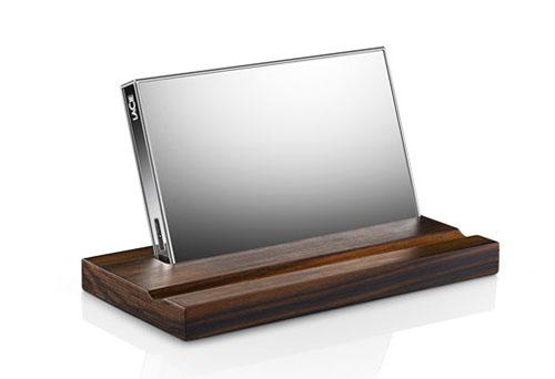 CES 2015 : LaCie présente un nouveau disque dur : le Mirror, joli mais cher…