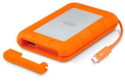 Un SSD externe USB 3.0 / Thunderbolt de 1 To chez LaCie