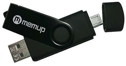 Memup sort une clé usb dotée d'une double connectique