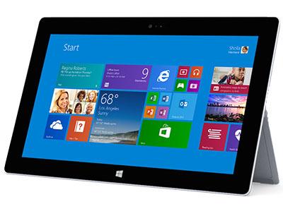 Microsoft fait évoluer légèrement sa tablette Surface Pro 2