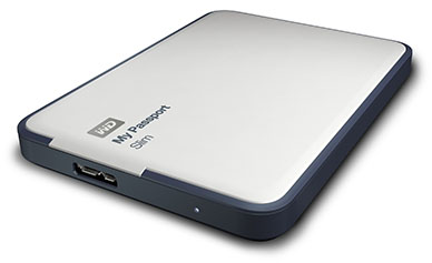 Western Digital lance les My Passport Slim en version 2 To
