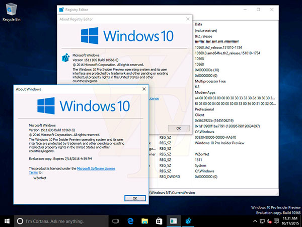 Il sera bientot possible d'activer Windows 10 avec les numéros de license de Windows 7 et 8.1